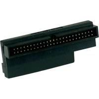 InLine SCSI III Adapter, internal 68/50 jack/jack + active termination 16Bit, angled (72970W)