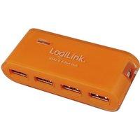 LogiLink 4 Port USB 2.0 Hub with Power Adapter