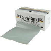 Thera Band Übungsband 5,5 m silber / super stark