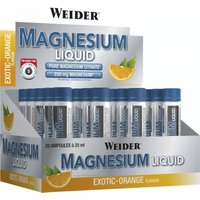 Idealo ES|Weider Magnesium Liquid 20 x 25ml Exotic-Orange