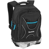 Makita Professional Tool Backpack with Organiser Black