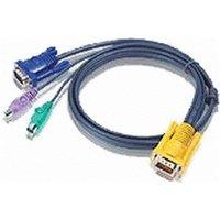 Aten PS/2 KVM Cable, 6m (2L-5206P)