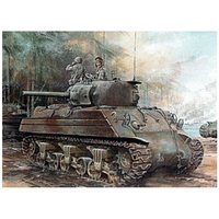 Dragon US Marines Sherman M4A2(W) Late Production (6462)