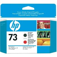 HP No. 73 (CD949A) Matt-Black+Red