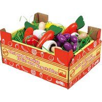 Legler Vegetables in a Cardboard Market Box