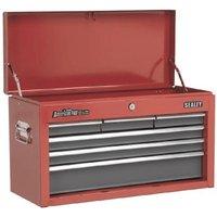 Sealey AP2201BB Topchest 6 Drawer – Red/Grey