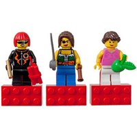 LEGO City Female Minifigure Magnet Set (852948)