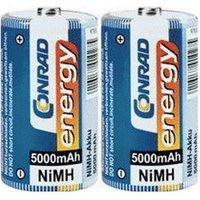 Conrad Energy 2x D Mono 1,2V 5000mAh NiMH (250306)