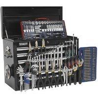 Sealey AP33109BCOMBO Topchest 10 Drawer – Black with Tools