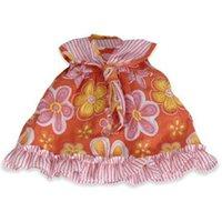 Miniland Orange Dress with Flowers 40 cm