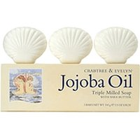 Crabtree & Evelyn Jojoba Oil Triple Milled Soap (3 x 100g)