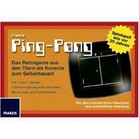 Franzis Ping Pong Retro Game Kit