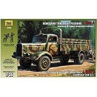 Zvezda Heavy German Cargo Truck L 4500 S (3596)