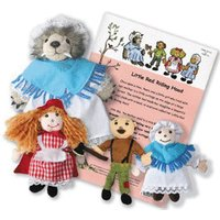 The Puppet Company Little Red Riding Hood Story Set