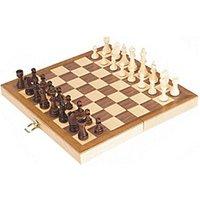 Goki Wooden Chess Set
