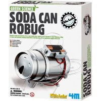 4M Kidzlabs Green Science - Soda Can Robug
