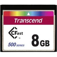 Transcend CFast Card 8GB 500x