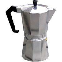 Relags Bellanapoli 6 Cup Espresso Maker silver