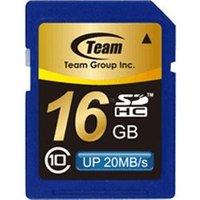 Team SDHC Card 16GB Class 10