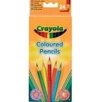 Crayola 24 Coloured Pencils (3624)