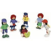 Legler Bending Dolls 6 Friends