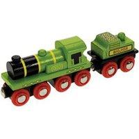 Bigjigs Big Green Engine Coal Tender