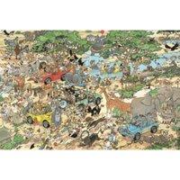 Jumbo Jan Van Haasteren Safari (1500 Pieces)