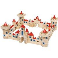 Goki Wooden Castle Building Bricks