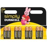 Duracell 8x Simply AA LR6/MN1500 (DUR002272)