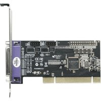 Manhattan Serial/Parallel Combo PCI Card (158251)