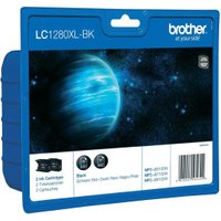 Brother LC-1280XLBK TwinPack