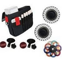 Rotolight Interview Kit 2x LED Video Lamp and Accessories