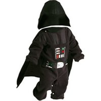 Rubie's Star Wars Darth Vader Newborn Fleece Costume