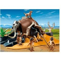 Playmobil Mammoth Skeleton Tent with Hunters (5101)