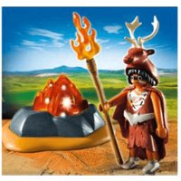 Playmobil Fire Guardian with LED Fire Rock (5104)