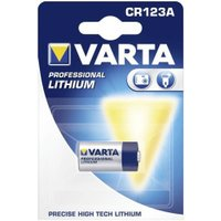 Varta 10x Professional CR123A Lithium