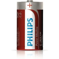 Philips Powerlife C Batteries 2 Pack