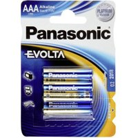 Panasonic 4x Micro AAA Evolta