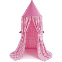 Win Green Hanging Tent cherry red Gingham
