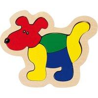Goki Wooden Dog Puzzle