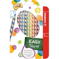 Stabilo Easycolor Ergonically Designed Coloured Pencils And Sharpeners