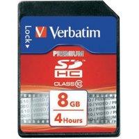 Verbatim SDHC Premium UHS-I U1 8GB (43961)