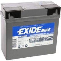 Exide Bike Gel 12V 19AH G19