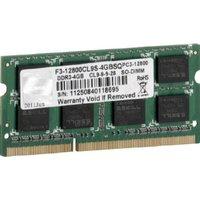 G.SKill SQ Series 4GB DDR3 PC3-12800 CL9 (F3-12800CL9S-4GBSQ)