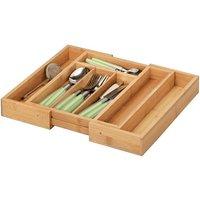 Zeller Bamboo Cutlery Tray (25322)