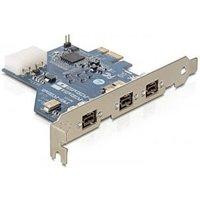 DeLock PCI Express Card FireWire 800 (61643)