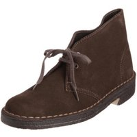 Clarks Desert Boot Women brown suede