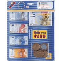 Theo Klein Euro money with credit card, blister