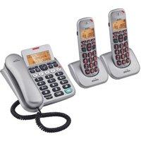 Binatone SpeakEasy 3865 Telephone Machine Triple