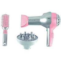 Theo Klein Braun hair dryer with diffusor and brush (5850)